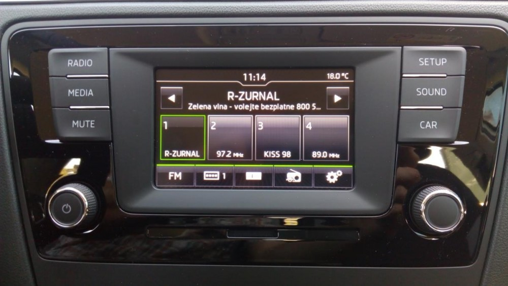 Výbava vozu Škoda Rapid