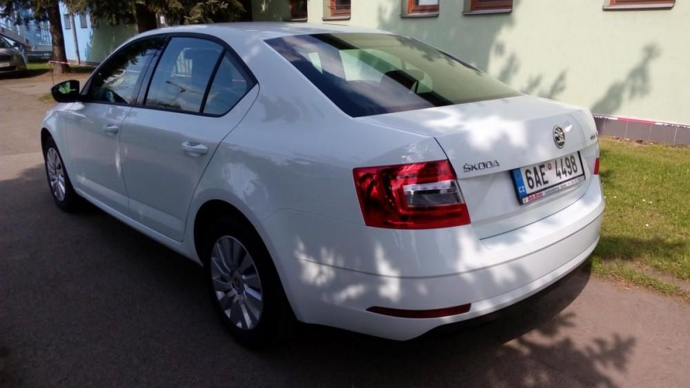 Model Škoda Octavia k půjčení
