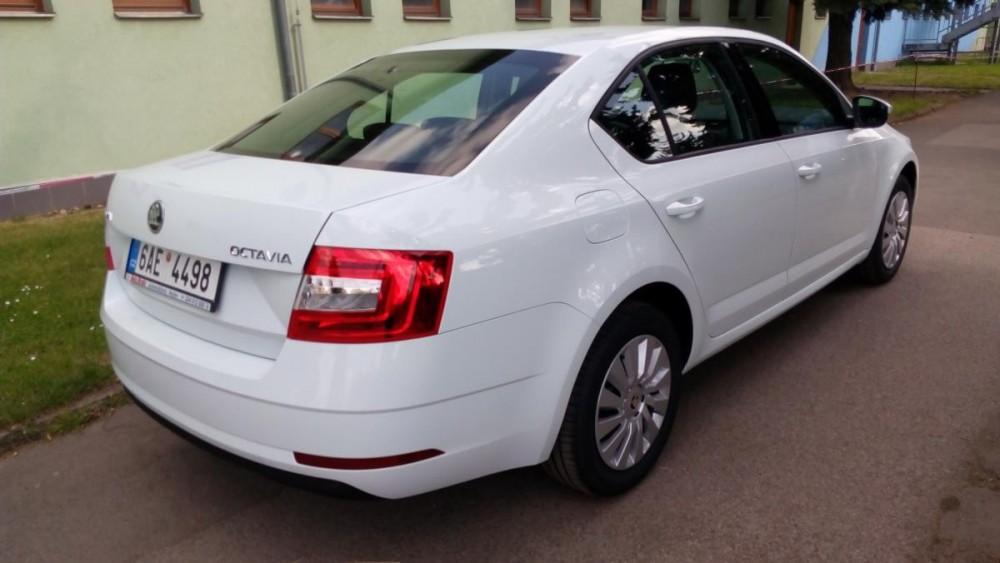 Model Škoda Octavia k zapůjčení