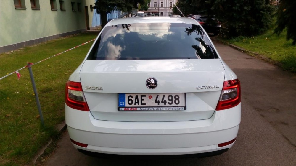 Škoda Octavia ke krátkodobému pronájmu