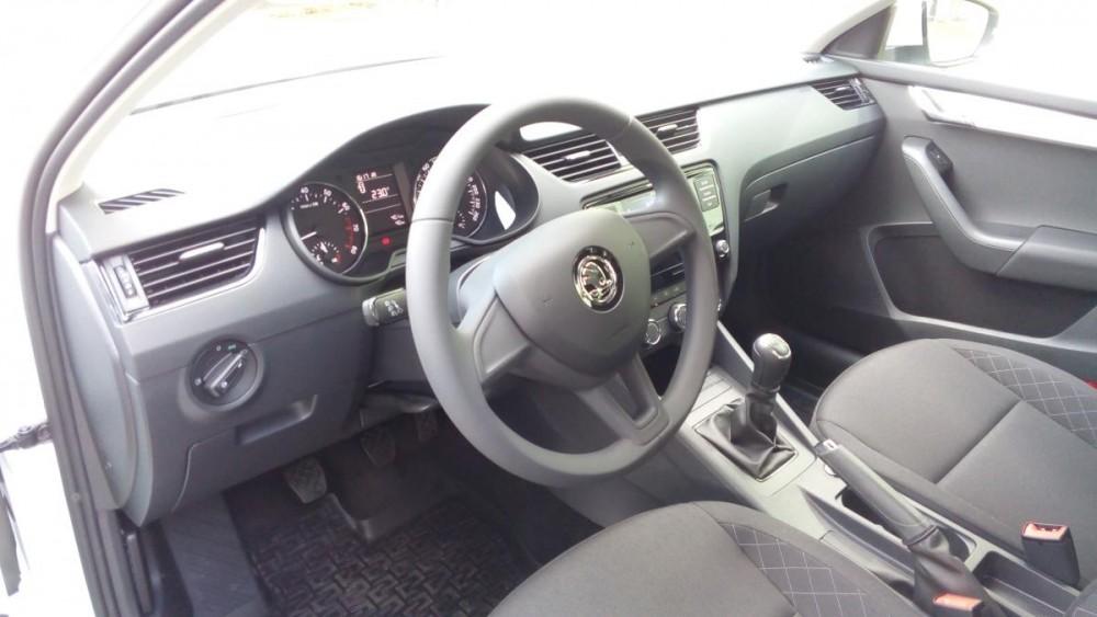 Interiér Škoda Octavia