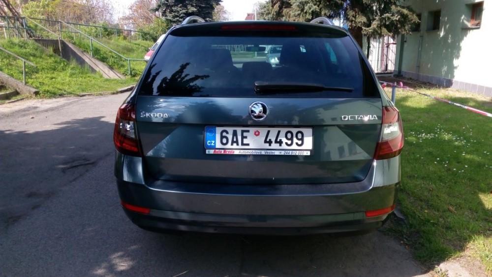 Vůz Škoda Octavia combi diesel business k zapůjčení