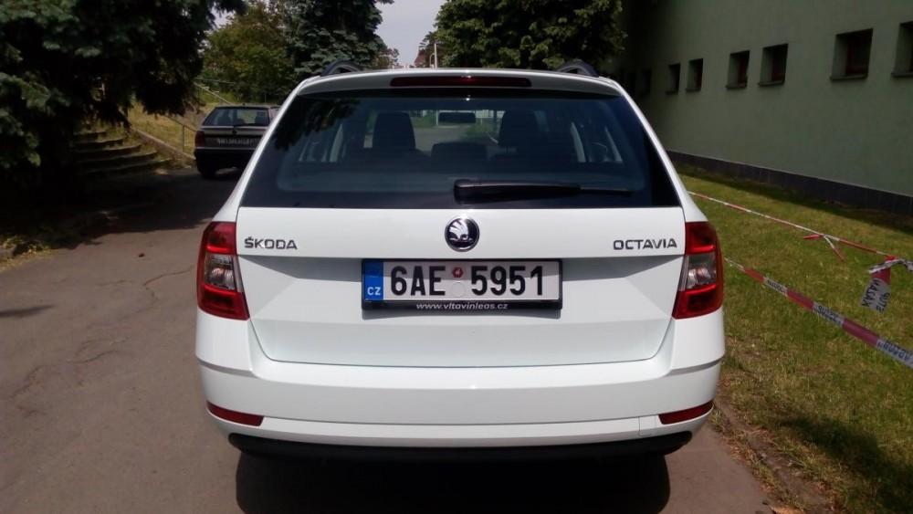 Model Škoda Octavia combi k pronájmu