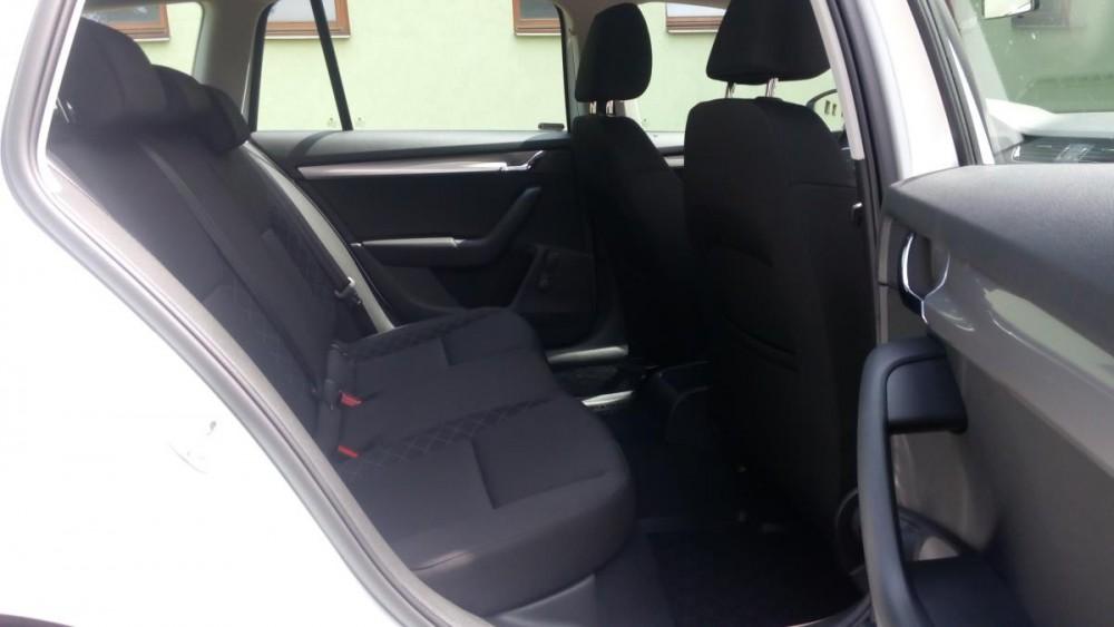 Zadní sedačky Škoda Octavia combi