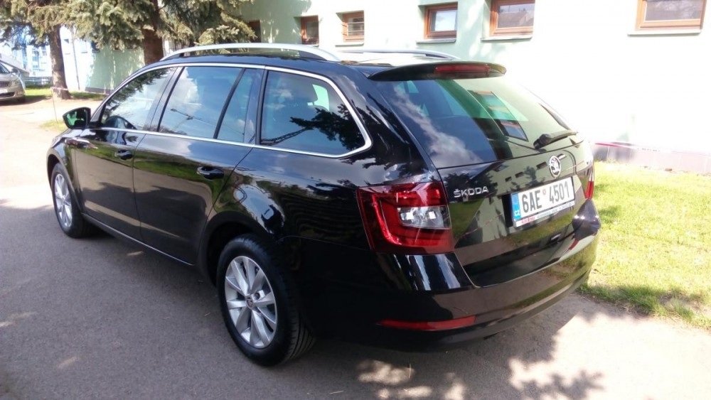 Škoda Octavia combi diesel business k pronájmu