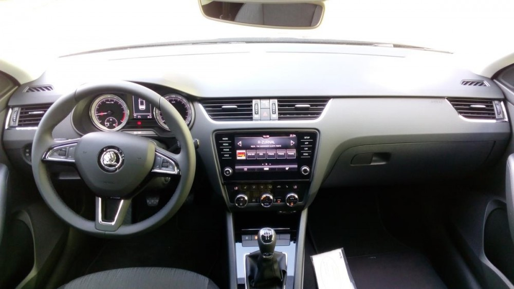 Výbava Škoda Octavia combi diesel business