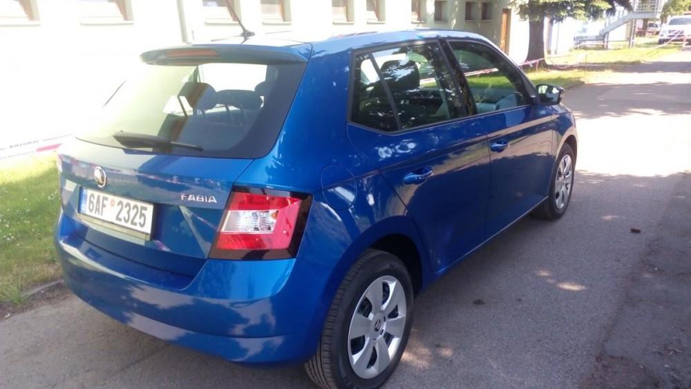 Model Škoda Fabia k zapůjčení
