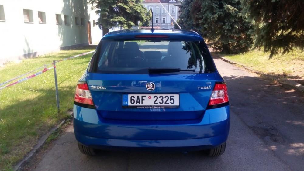 Pronajměte si vůz Škoda Fabia