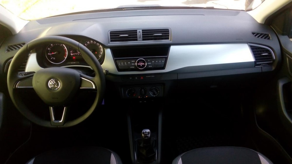 Interiér Škoda Fabia