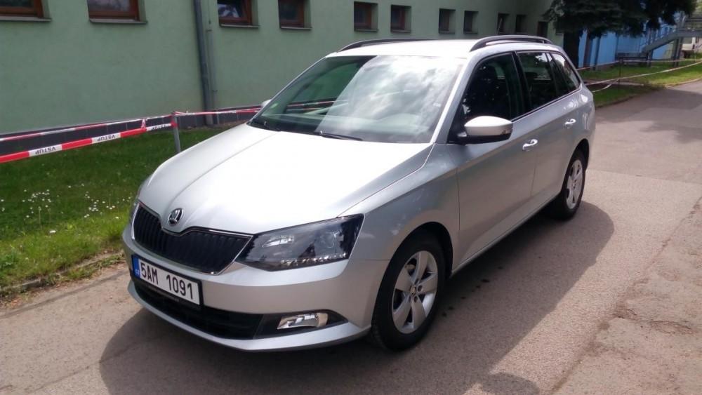 Škoda Fabia combi k půjčení