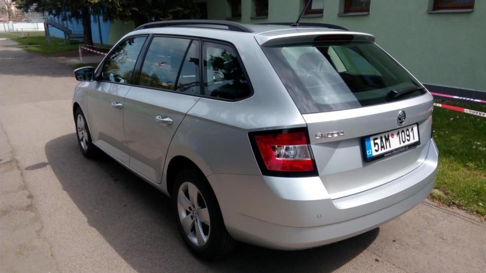 Škoda Fabia combi k zapůjčení
