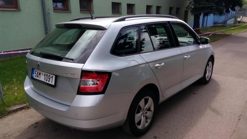 Škoda Fabia combi ke krátkodobému pronájmu