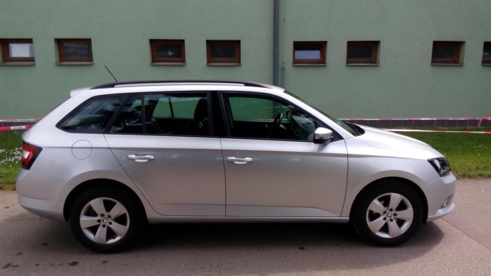 Model Škoda Fabia combi k zapůjčení