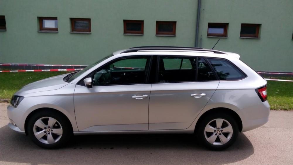 Model Škoda Fabia combi k pronájmu