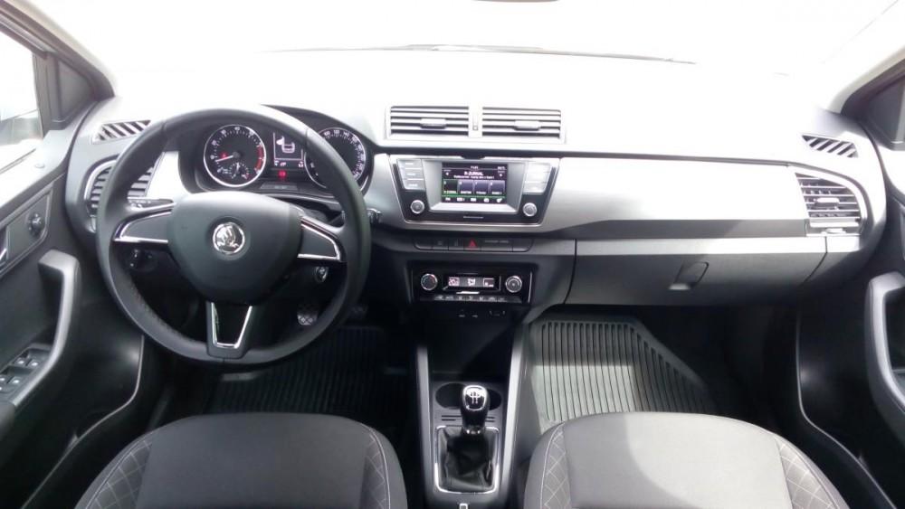 Interiér vozu Škoda Fabia combi