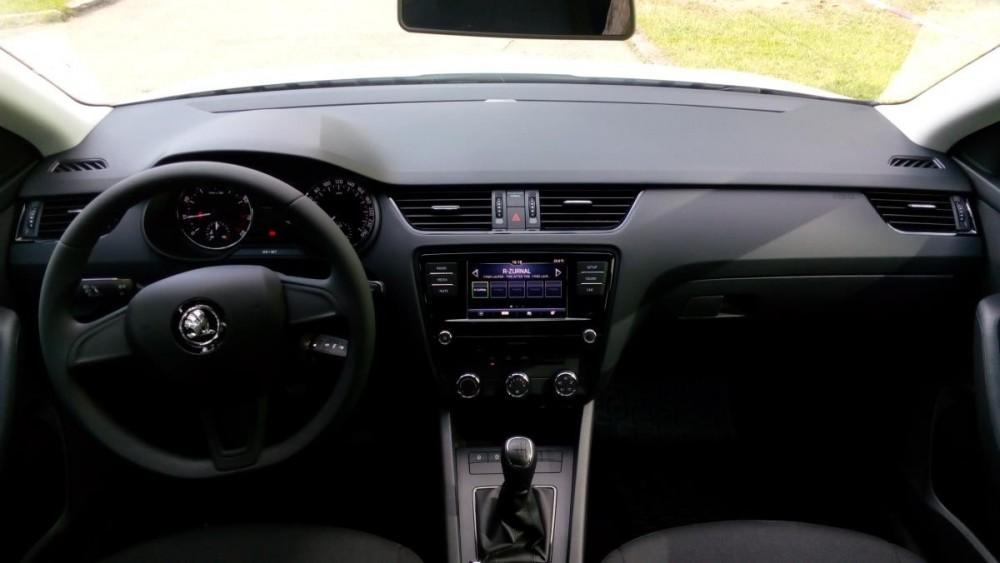 Interiér Škoda Octavia diesel
