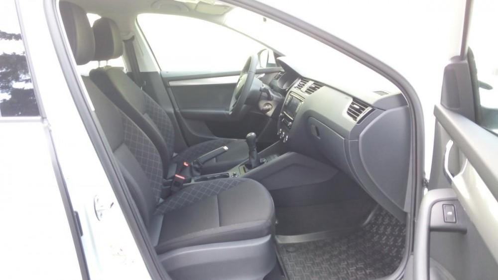 Model Škoda Octavia diesel - interiér