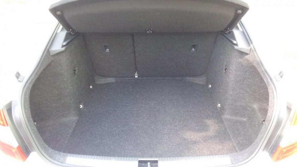 Zavazadlový prostor Škoda Octavia diesel