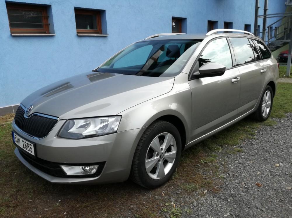 Vůz Škoda Octavia diesel kombi business 2016