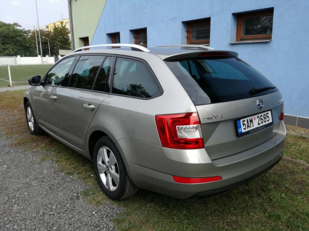 Škoda Octavia diesel kombi business 2016 na pronájem
