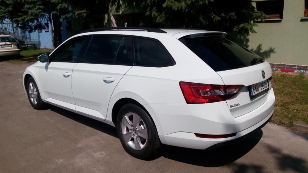 Škoda Superb III combi diesel k pronájmu
