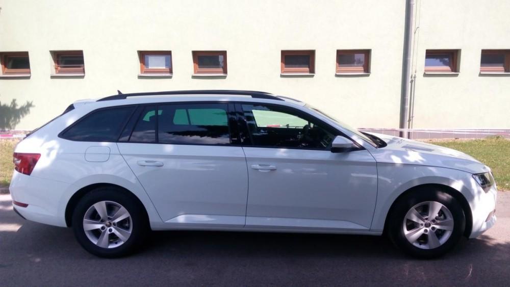 Škoda Superb III combi diesel ke krátkodobému pronájmu