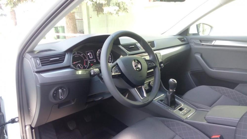 Výbava Škoda Superb III combi diesel